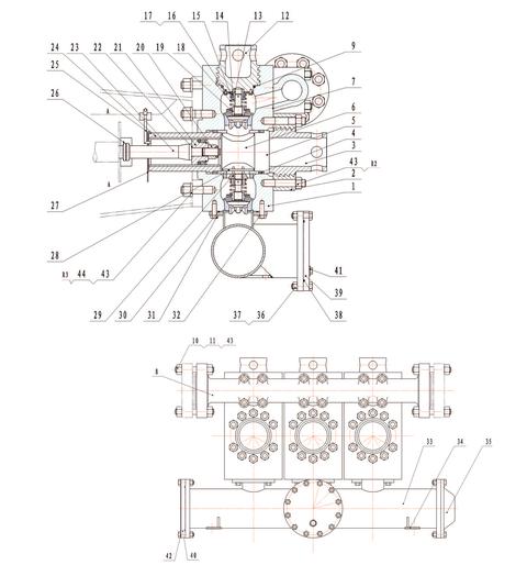 Гидравлическая часть насоса серии F-800