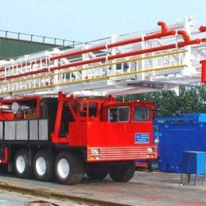 Самоходная мобильная буровая установка ZJ-40/2250