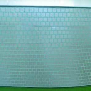 Сеточные панели на перфорированной подложке мягкого типа